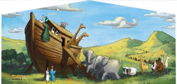 Noah's Ark Moonwalks for your church festivals
