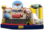Corporate Event Disney Cars Inflatable Slide Rental