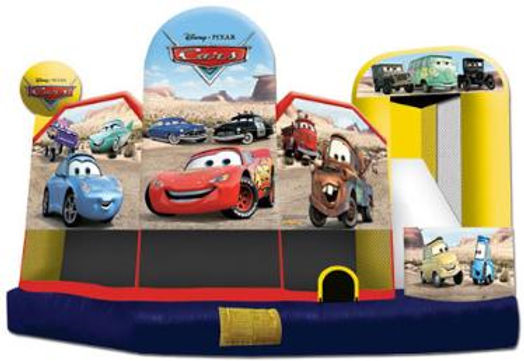 Disney Cars Jump and Slide