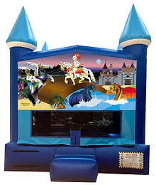 Knights and Dragons Inflatable Rental