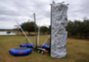 Rock Wall / Bungee Trampoline Rental