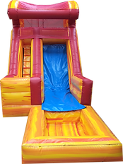 16' Fire and Ice Wave Water Slide Rental