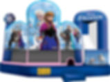 Corporate Event Disney Frozen Inflatable  Water Slide Rental