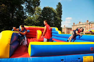 Bungee Race Inflatable Corporate Carnival Event Game Rental