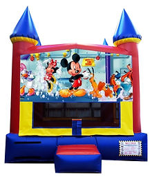 Mickey Mouse and Minnie Mouse Inflatable Rentals
