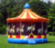 Carousel Inflatable Event Rentals