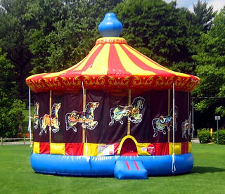 Carousel Inflatable Event Party Rental