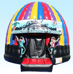 Dancing Dome Inflatable Event Rentals