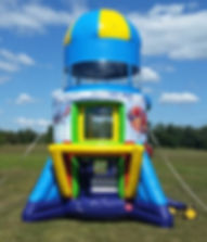 Airborne Adventure Inflatable Parachute Ride or Rocket Ride