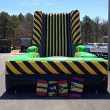 High Voltage Sticky Wall or Velcro Wall Rental