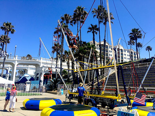 Bungee Trampoline Corporate Carnival Event Rentals