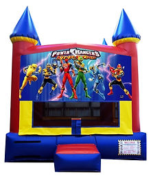 Power Rangers Inflatable Rental