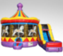 Corporate Event Carousel Inflatable Bouncer Rentals