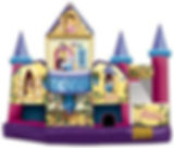 Corporate Event Disney Princess Inflatable Water Slide Rental