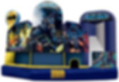 Corporate Event Batman Inflatable Slide Rental