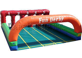 Fun Derby Inflatable Horse Race