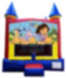 Dora the Explorer Inflatable Rental