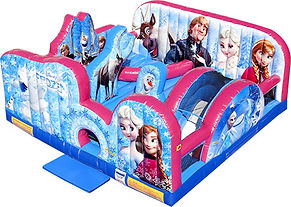 Corporate Event Ideas with Disney Frozen Toddler Inflatables