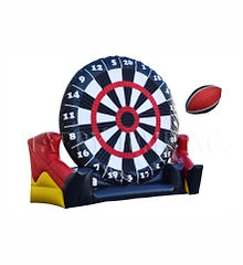 Football Dart Inflatable Game Rental
