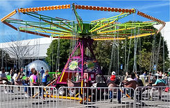 Cyclone Swing Ride for Corporate Carnival Events
