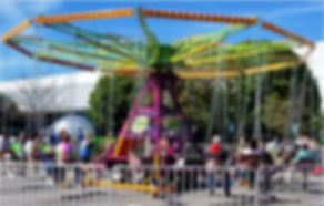 Cyclone Swing Ride Corporate Event Rental