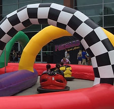 Carnival Corporate Event Bumper Car Rental
