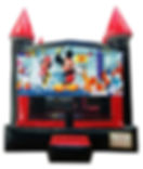 Mickey Mouse and Minnie Mouse Castle Rental