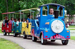 Trackless Train Rentals for Corporate Events, Church and School Carnivals and Festivals