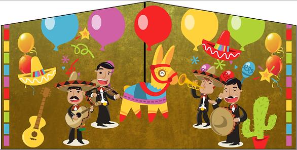 Mexican Fiesta or Cinco De Mayo Bouncy castle rental