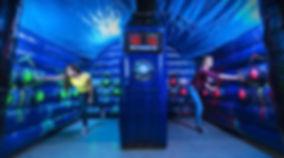 Lightning Speed Arena Inflatable Light Game