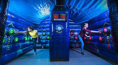 Lightning Speed Arena Inflatable Light Game