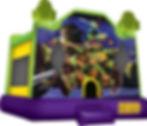 Teenage Mutant Ninja Turtles Bounce House aka TMNT Event Rental