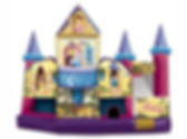 Corporate Event Disney Princess Inflatable Slide Rental