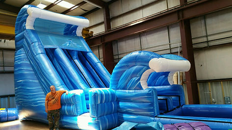 Water Slide Corporate Event Idea
