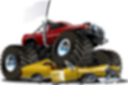 Monster Trucks, Transformers and Blaze Inflatables to rent!