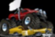 Monster Trucks, Transformers, and Blaze bouncer rentals