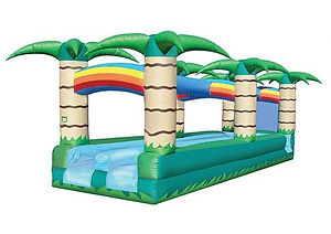 Tropical Slip n Slide Corporate Carnival Event Rentals