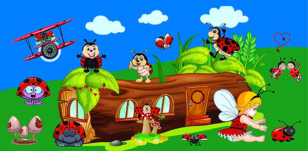 Ladybug Bouncer Rentals