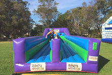 Bungee Race Interactive Inflatable Game