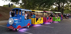 Cherokee County Trackless Train Rentals.