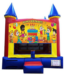 Happy Birthday Inflatable Rentals