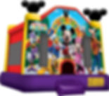 Mickey Mouse Bounce House Event Rental