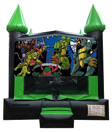 TMNT or Teenage Mutant Ninja Turtles Inflatable Rentals