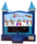 Christmas Inflatable Bounce House Rentals