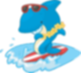 Luau, Moana, Spongebob and Finding Nemo Inflatable Bounce House Rentals