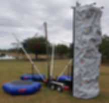 Corporate Event Bungee Trampoline Rental