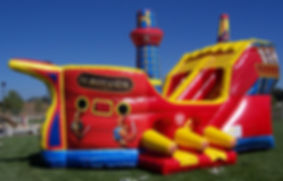 Pirate Ship Corporate Event Inflatable Rental