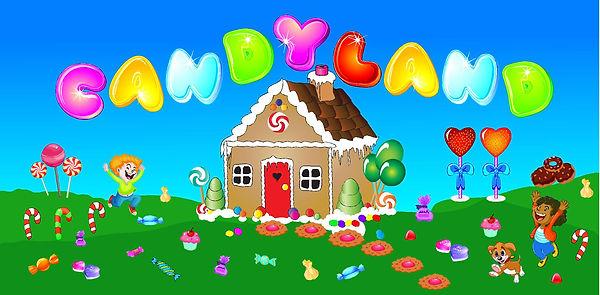 Candyland Jump house rental