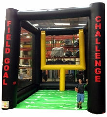 Field Goal Challenge Inflatable Game Rental