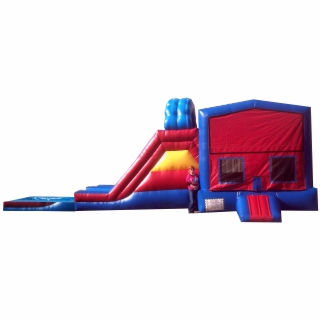 Inflatable Jump Slide Combo Rental